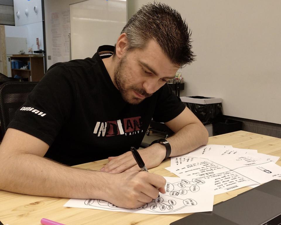 Trabajando en el Bootcamp de Diseño UX / UI de Ironhack